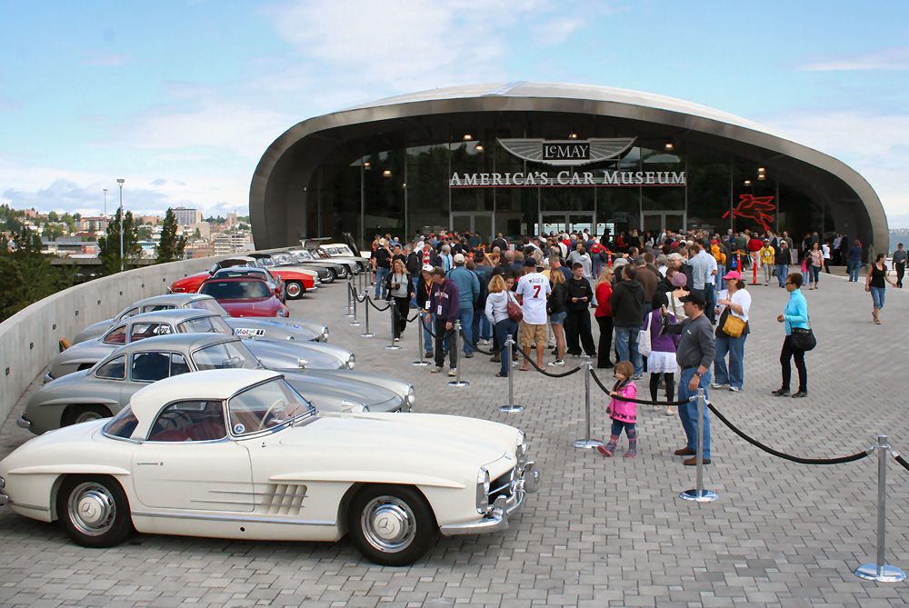 They Did It!  Le May, America's Car Museum Opens!