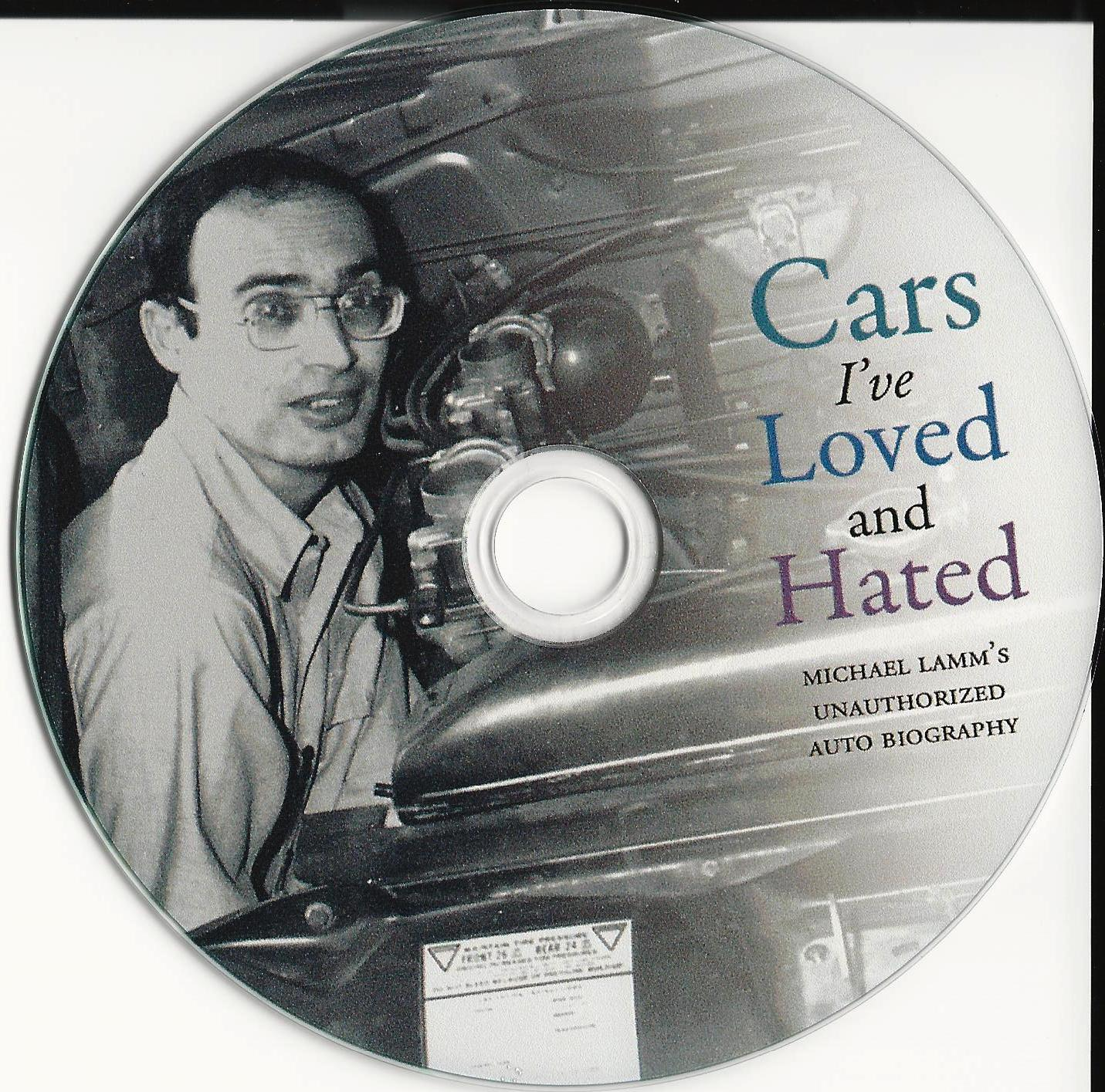 Cars I've Loved and Hated, a new blogbook by Michael Lamm