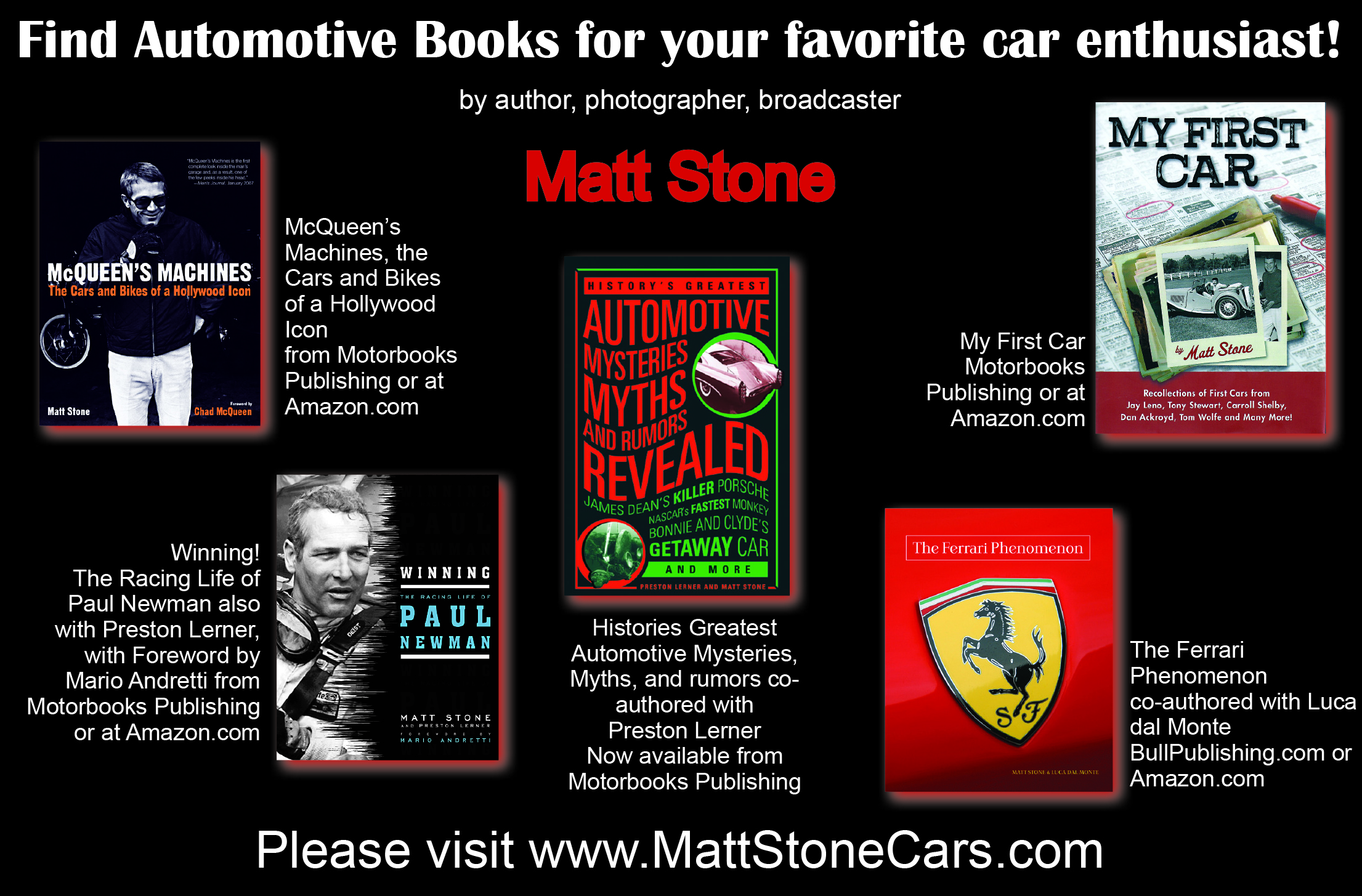 Like Car Books?