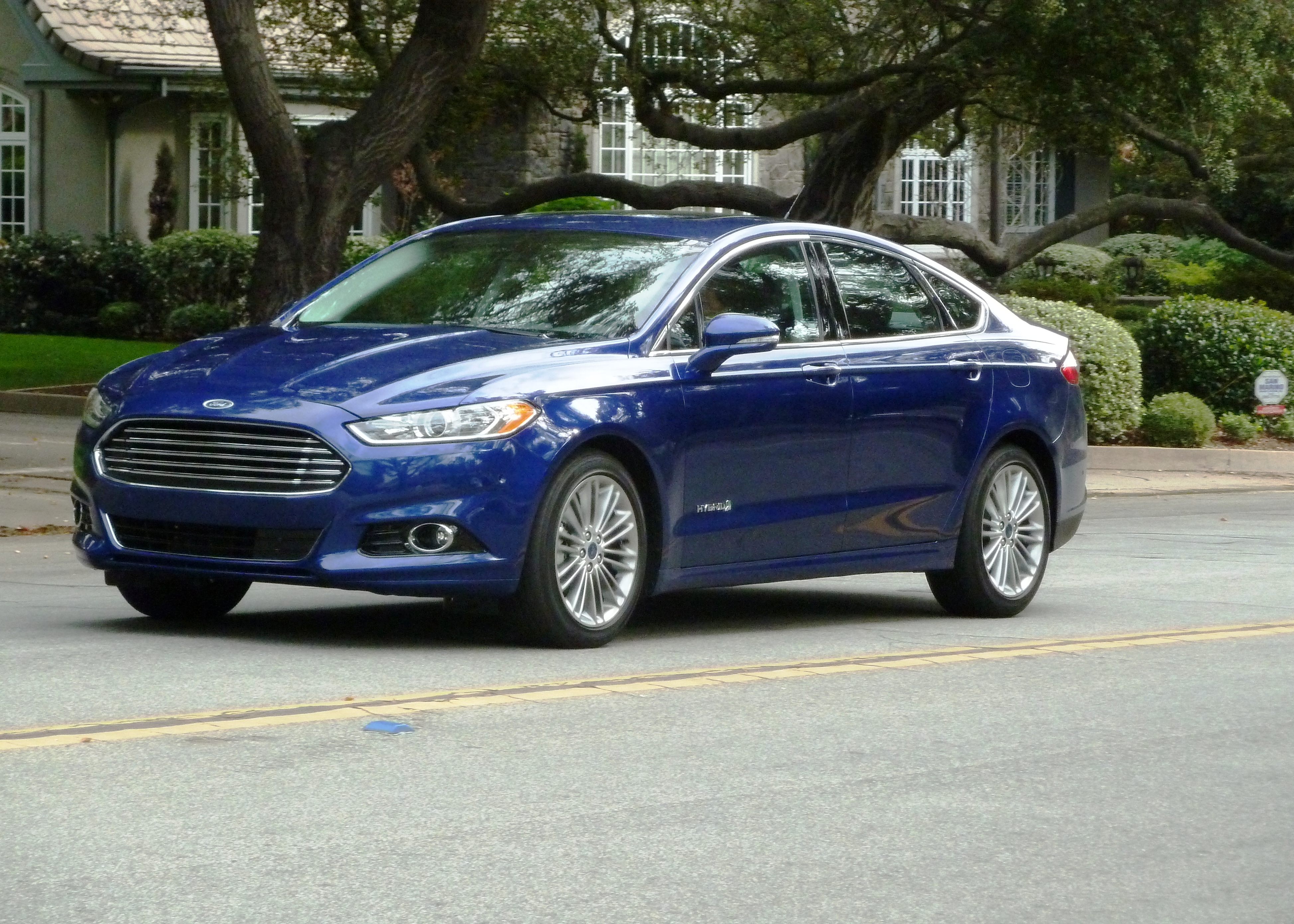 Driven: 2013 Ford Fusion Hybrid