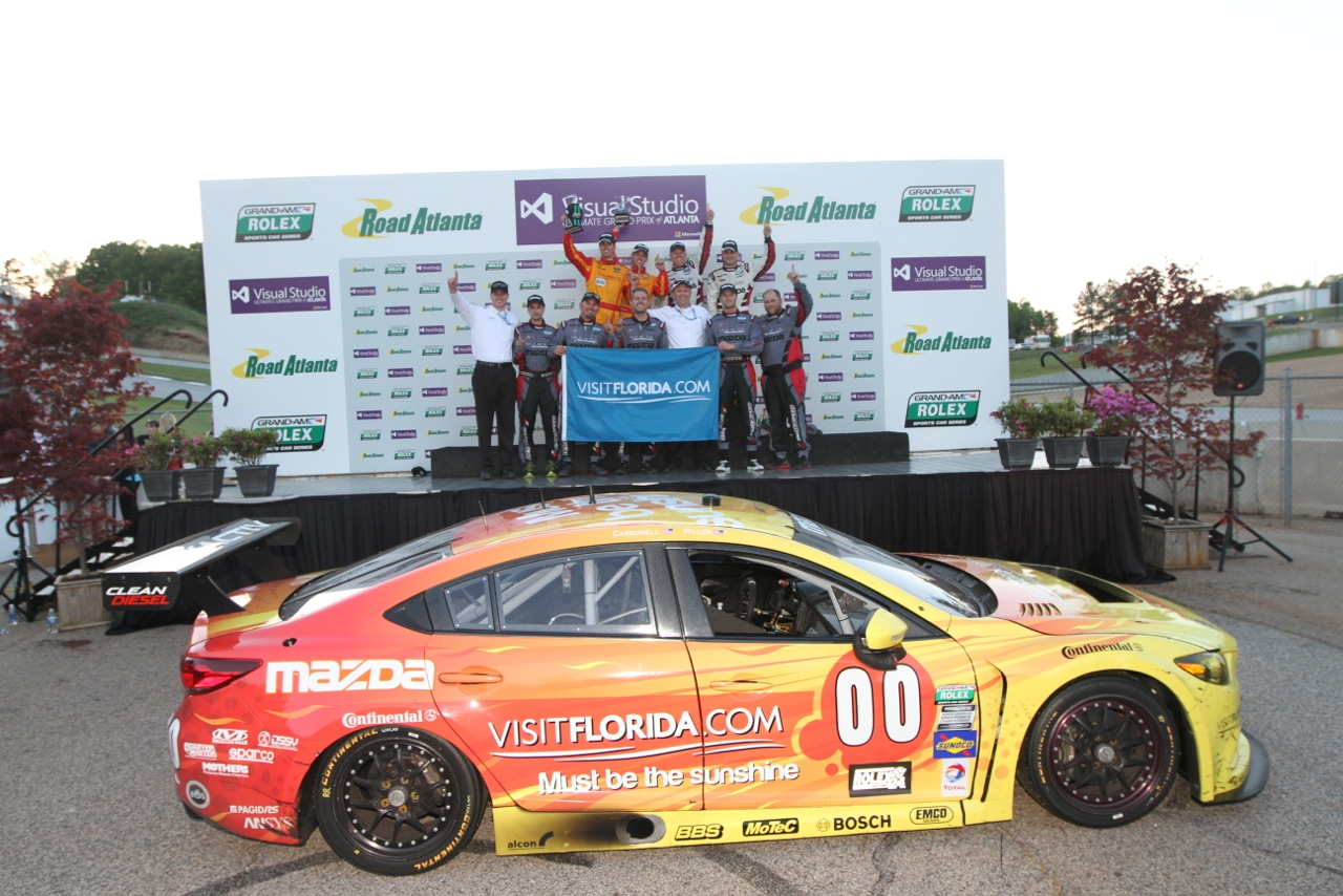 MAZDA SCORES FIRST RACE WIN WITH SKYACTIV-D CLEAN DIESEL