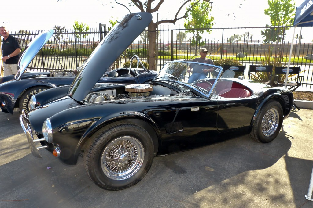 New era 50 anniversary Cobra, in black over bordeaux leather interior, is a car I really really want.