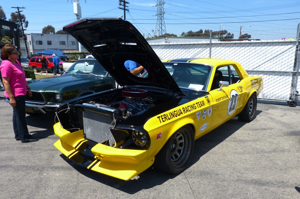 My friend Robert Bistagne's Shelby Terlingua tribute Mustang TransAm club racer is very much like the car Titus used to win the SCCA T/A title that year.
