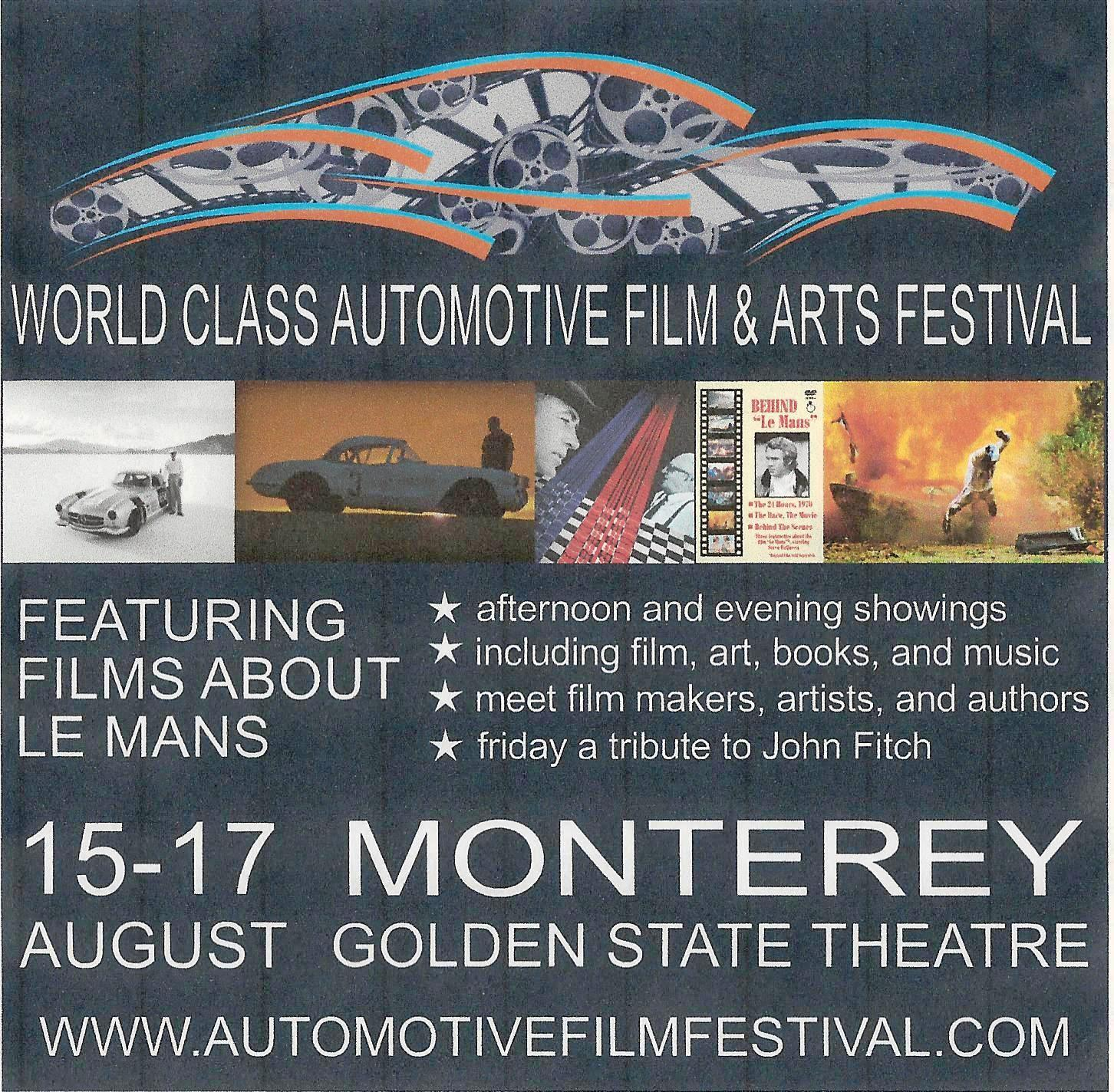 Looking for something different to do during Monterey Car Week in August