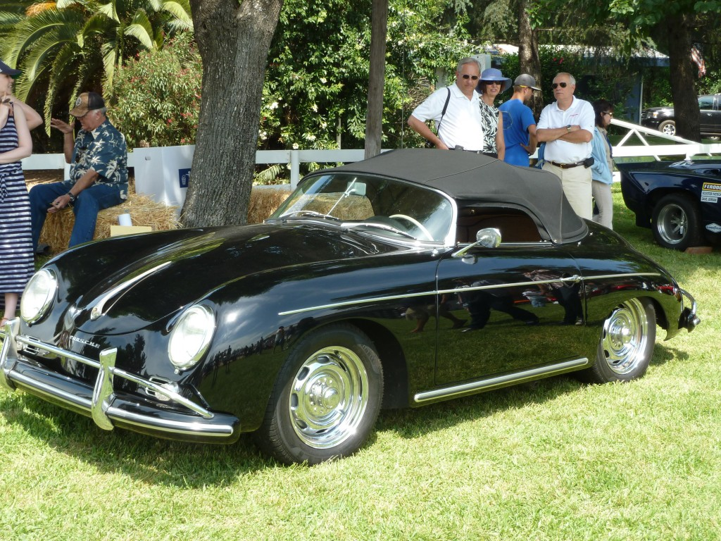 Steve, now Chad's, 1958 Porsche Speedster 1600 Super -- and it is