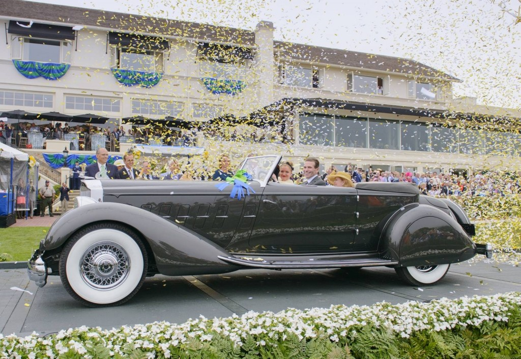 1934 Packard 1108 Twelve Dietrich Convertible Victoria