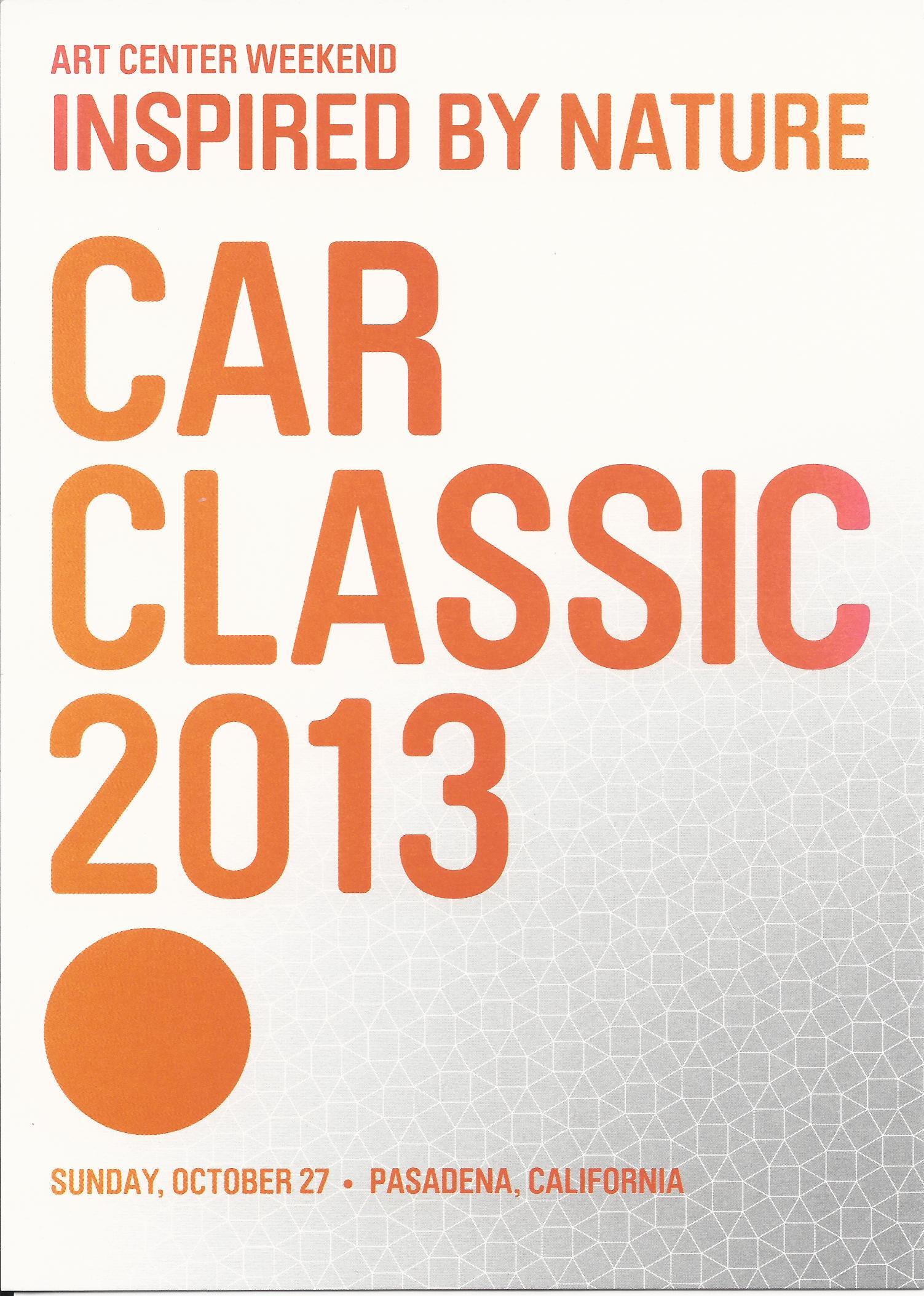 Art Center Car Classic 2013 – a Don't Miss Show