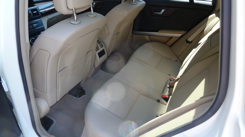 Interior comfy and in perfect condition