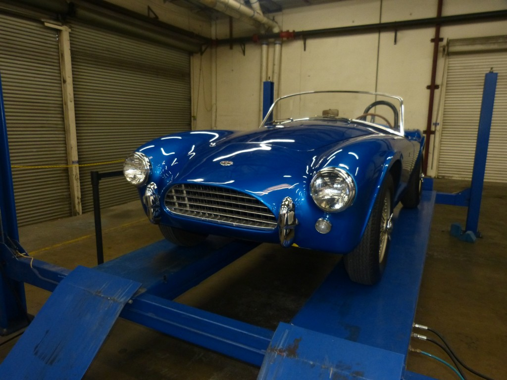 Where it absolutely all began; CSX2000, the original Shelby Cobra prototype, built right here in SoCal