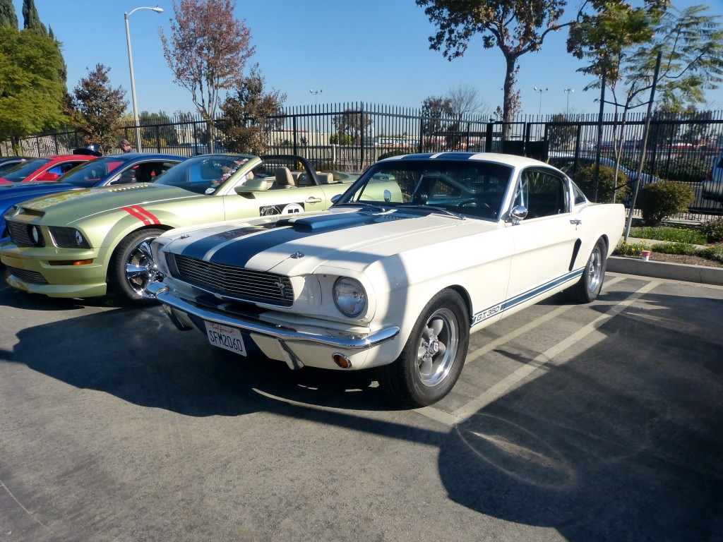Wish this '66 GT350 lived in my garage -- real deal too, not a fake snake, me recalls