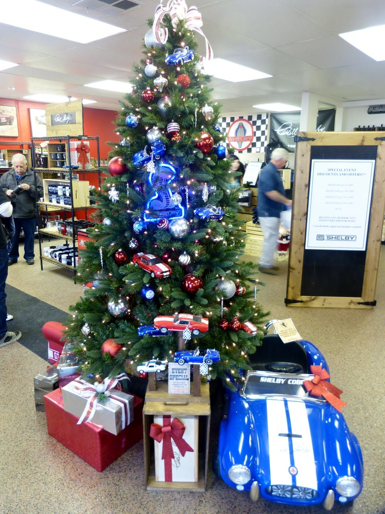 Who wouldn't want a tree full of Cobras and Mustangs?