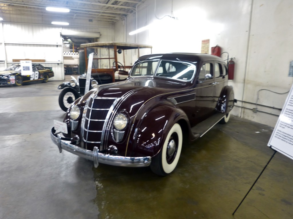 Betcha didn't know Carroll owned a Chrysler Airflow -- he loved technology and advanced automotive design, so this innovative American classic is a natural for his own collection