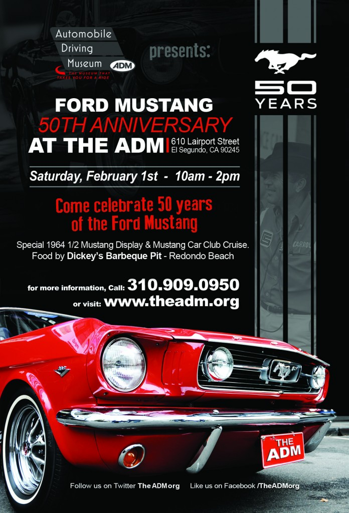 Mustang 50th Flyer