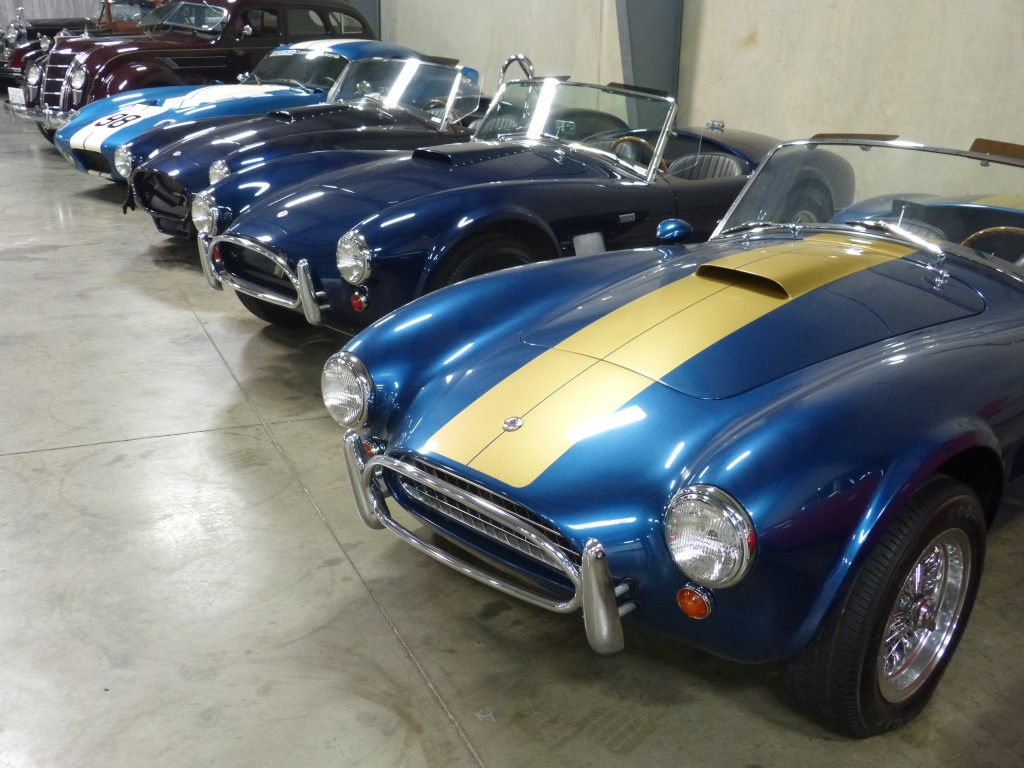 Some of the finer points of Carroll's personal car collection