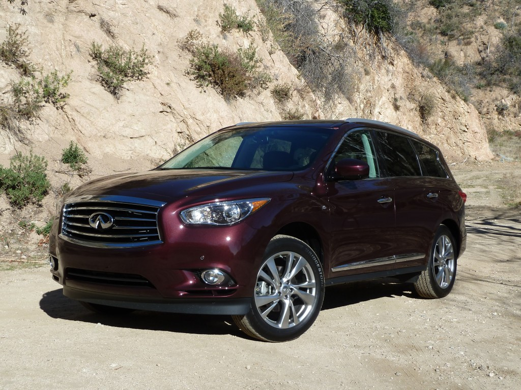 You won't mistake the QX60 for anything other than an Infiniti
