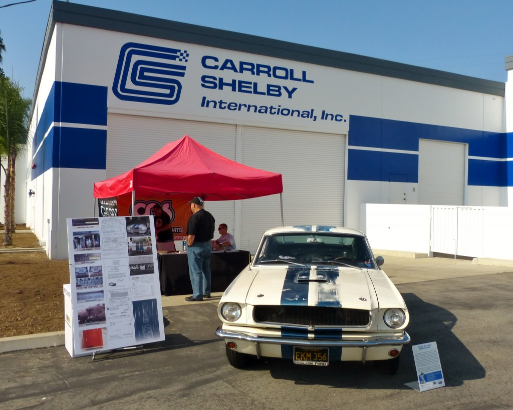 The reborn, refreshed Shelby Los Angeles hosting one of its early greats, Galpin Auto Sports' '65 GT350