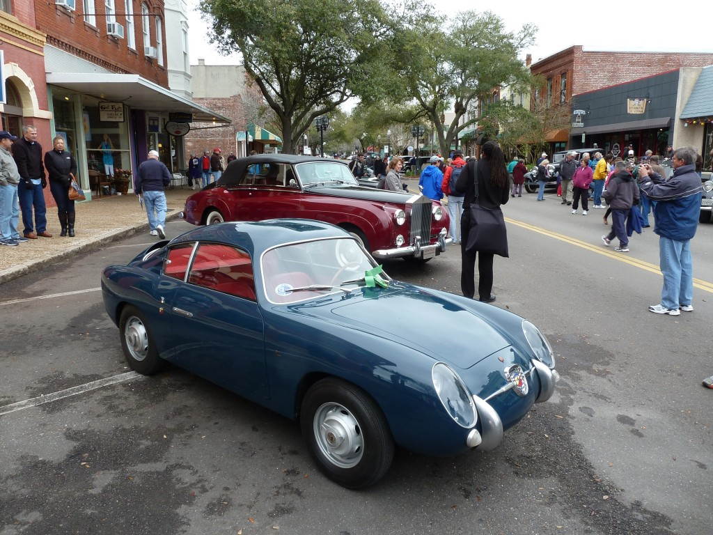 Good Things in Small Packages: Fiat Abarth 750 Zagato double bubble