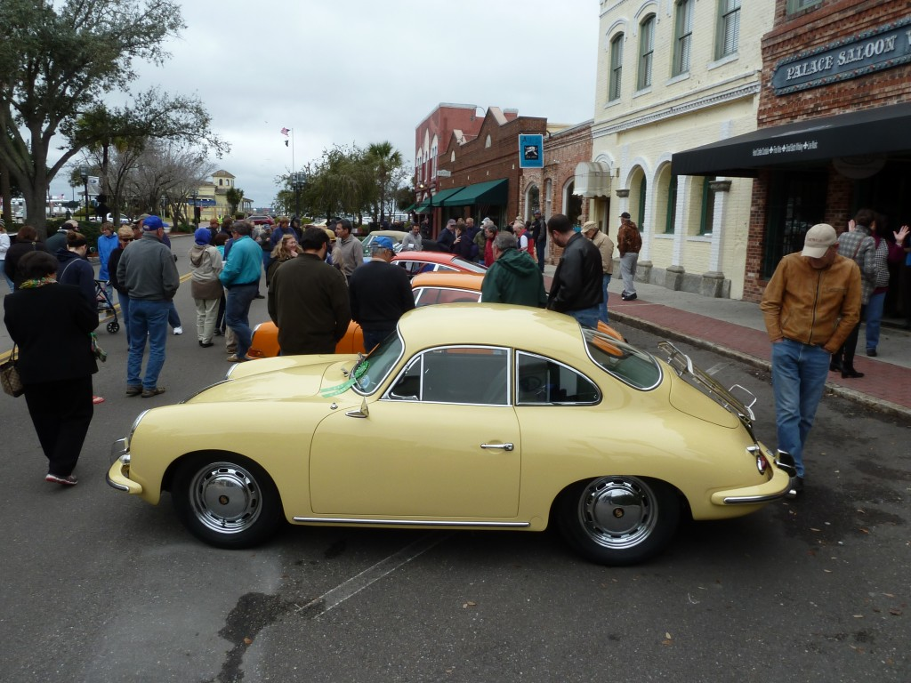 What's a great car show without Porsches?  No worries -- Amelia had plenty, and they were great ones