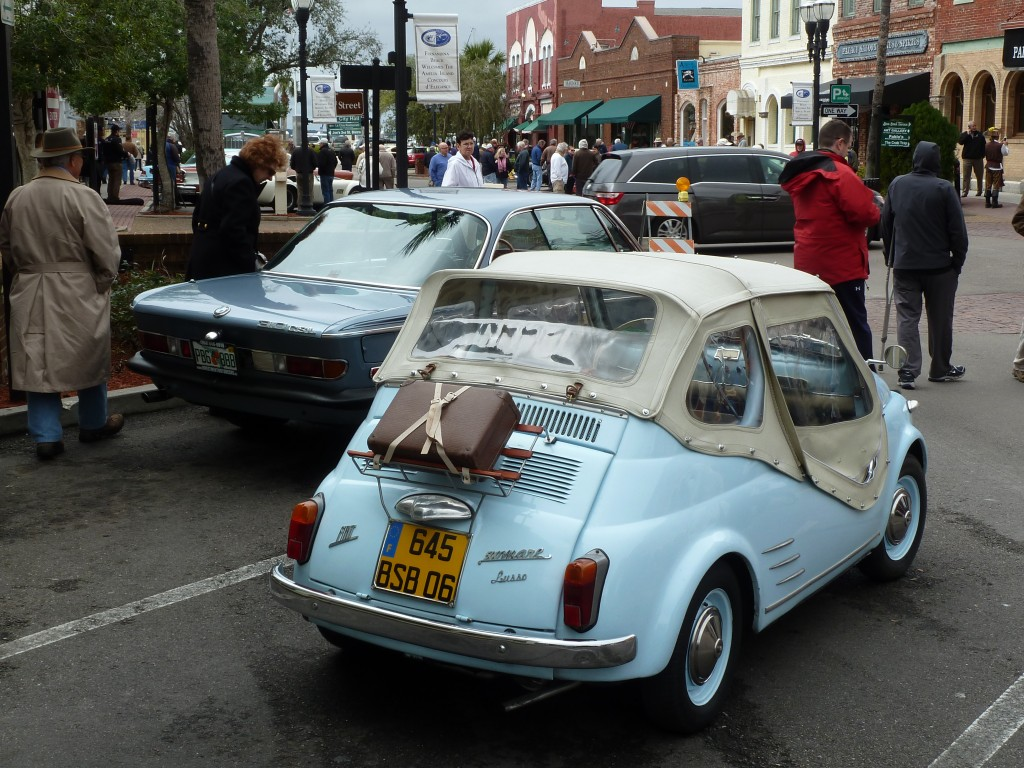and even Smaller Packages, like this terminally cute Fiat 500 Mare Lux beach cruiserette