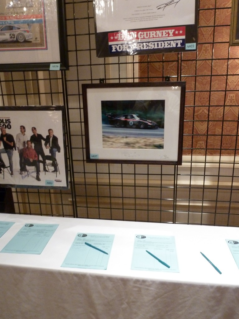 One of the more popular places to spend your money is the silent auction: photos, art, sculpture, books, local goodies like dinners and spa treatments...and again all for charity