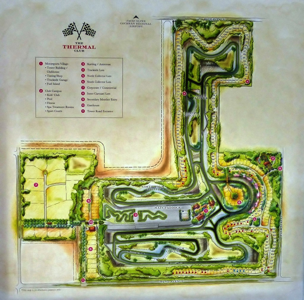 4.5 miles of motorsport magic surrounded by about 300 custom built and finished garage villas, and more ameneties that nearly any countryclub or resort you can name.