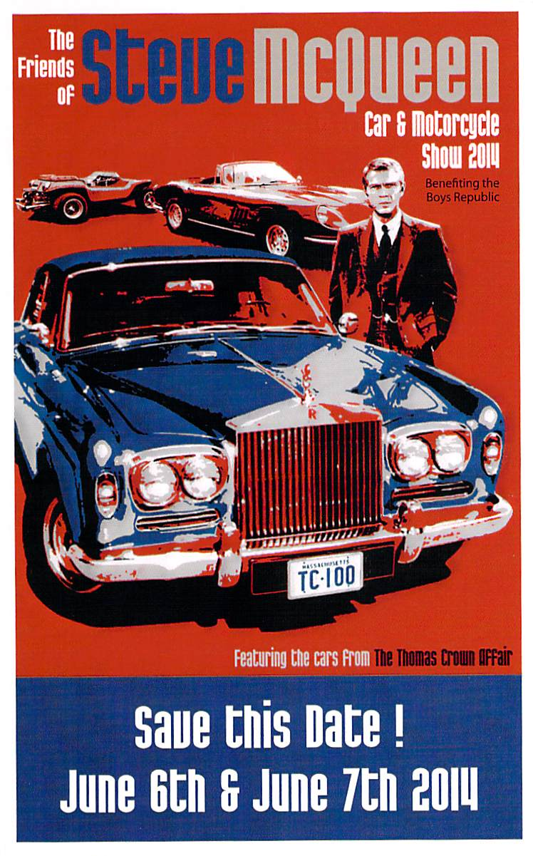 Two Great Car Shows Coming Soon — The Friends of Steve McQueen Car Show and the San Marino Motoring Classic