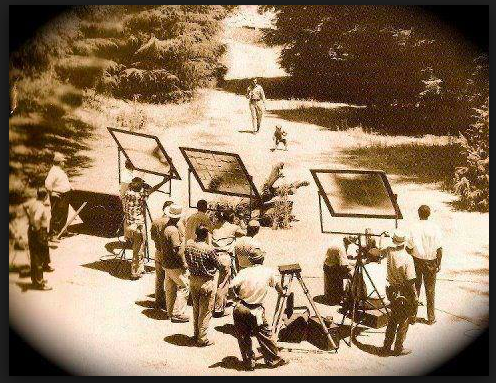 Andy Griffith Show filming underway at Franklin Lake Park...way back in the day.
