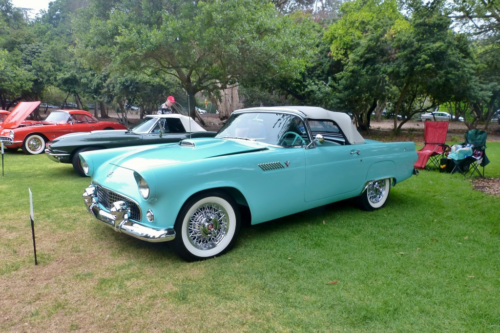 Some survey or another I read a few years back declared the original 1955-57 Thunderbird America's most beloved classic car, and it's not hard to understand why