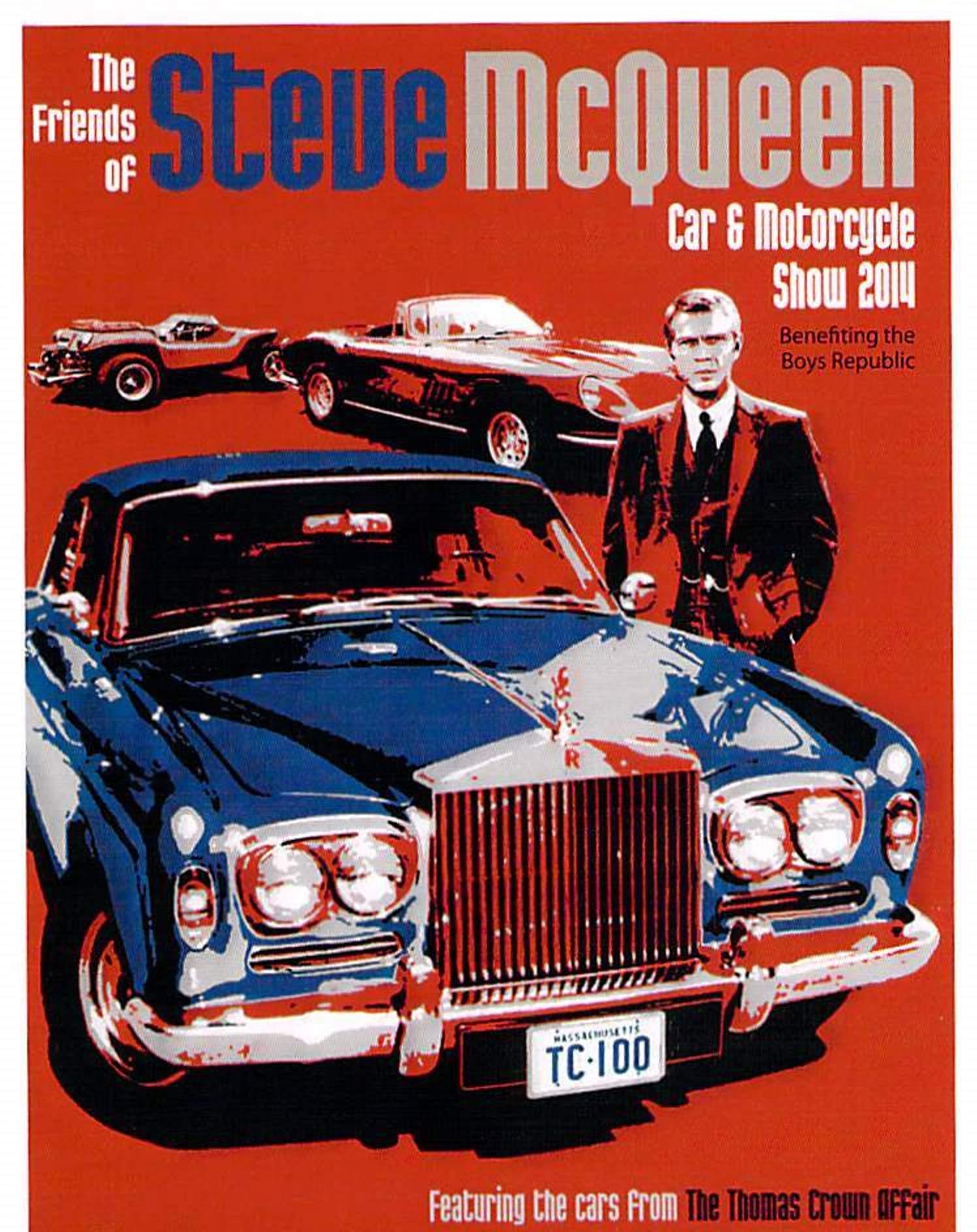 Friends of Steve McQueen Car Show 2014 a Huge Hit