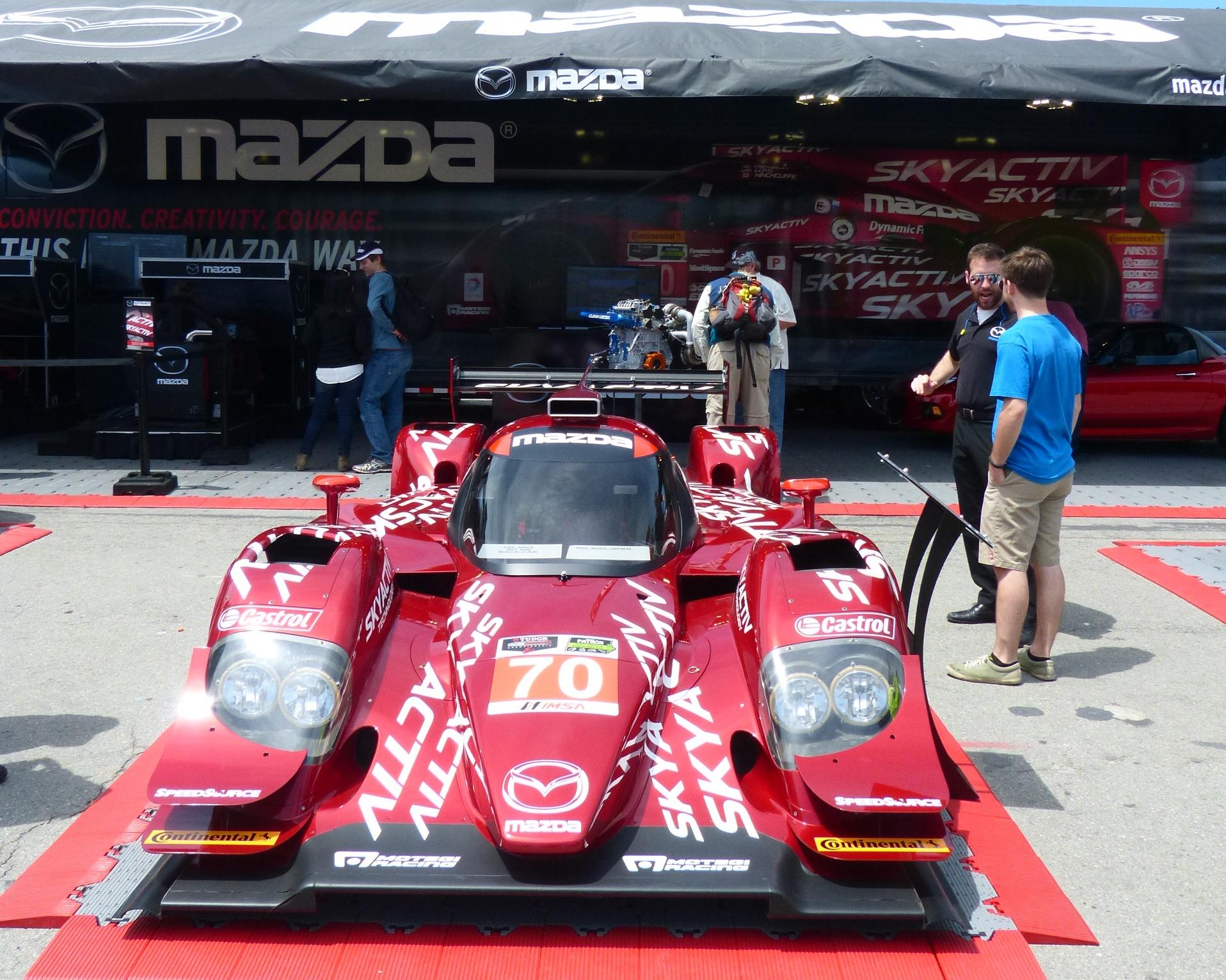 Mazda SkyActiv Prototype program showing innovation and gaining speed