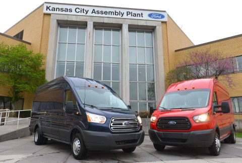 Driven: 2015 Ford Transit Vans