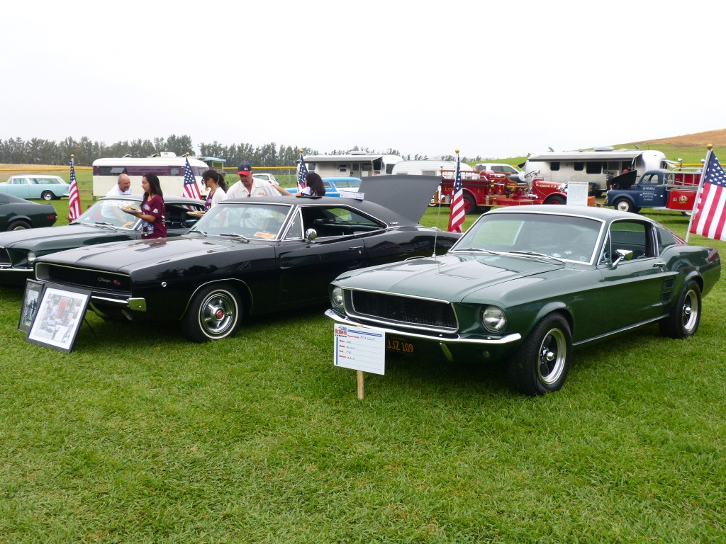 Always a great selection of Bullitt style or related cars at this show.