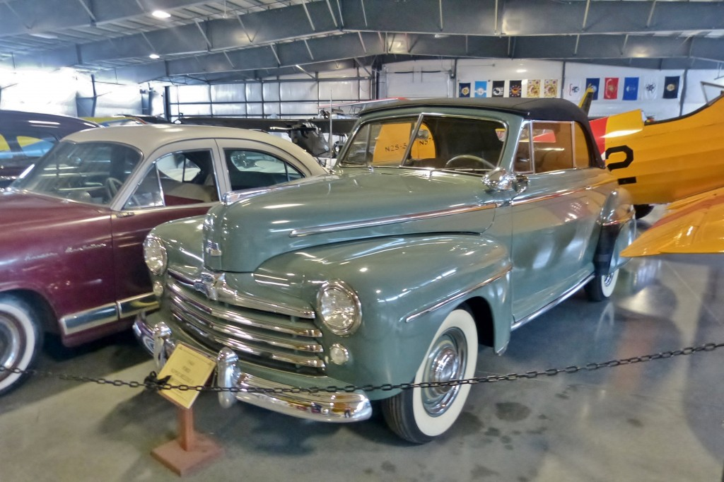 Like Fat Fendered Flatties?  '46-48 Ford ragtops are beautiful, a joy to drive, and particularly hot in the collector car market right now
