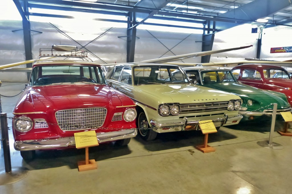 Great group of odd duck faves: love this Stude, Rambler, and Citroen DS