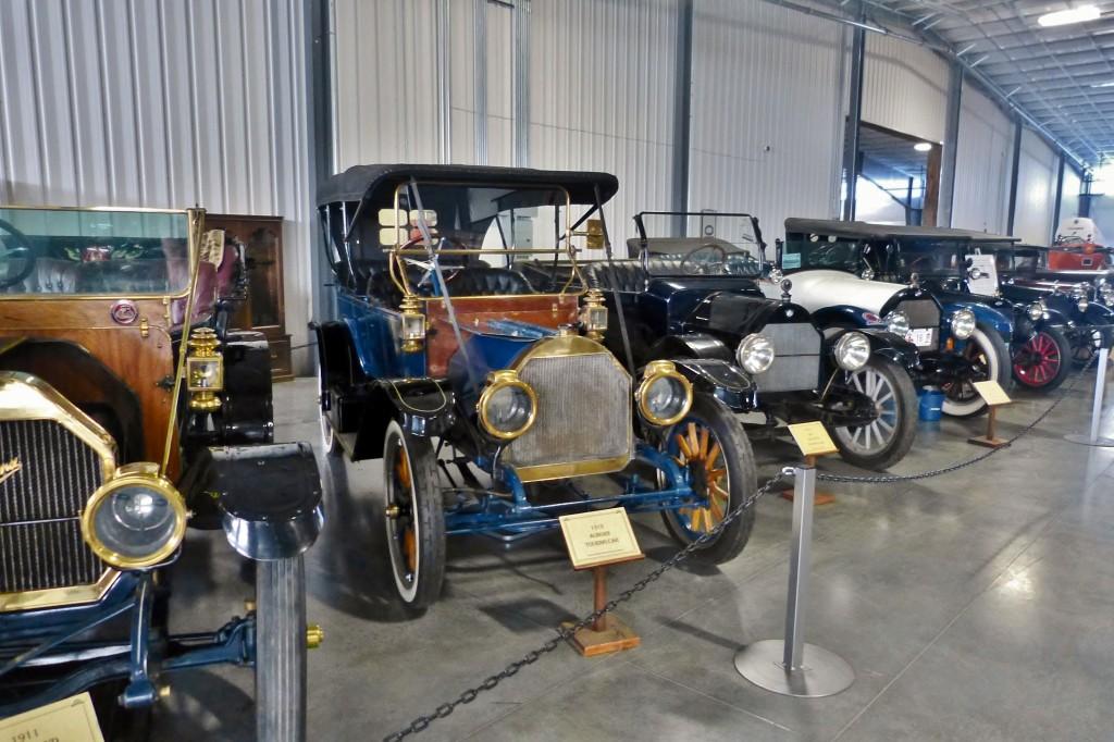 Plenty of brass and tin era cars on hand too