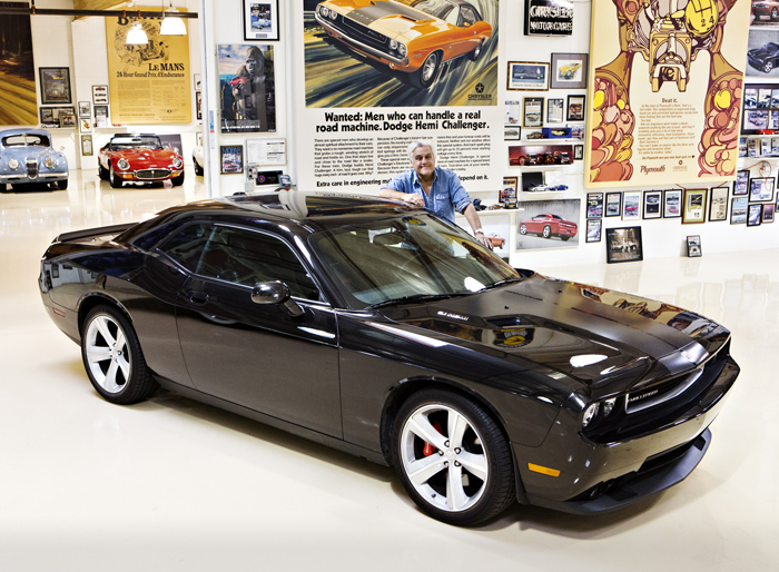 Jay Leno to Auction His 2008 Dodge Challenger SRT8 in Support of the USO