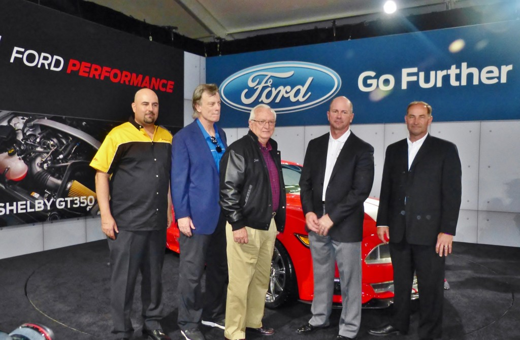Shelby CEO Mr. Conway, quoted just below, is the white haired gent in the middle of this lineup