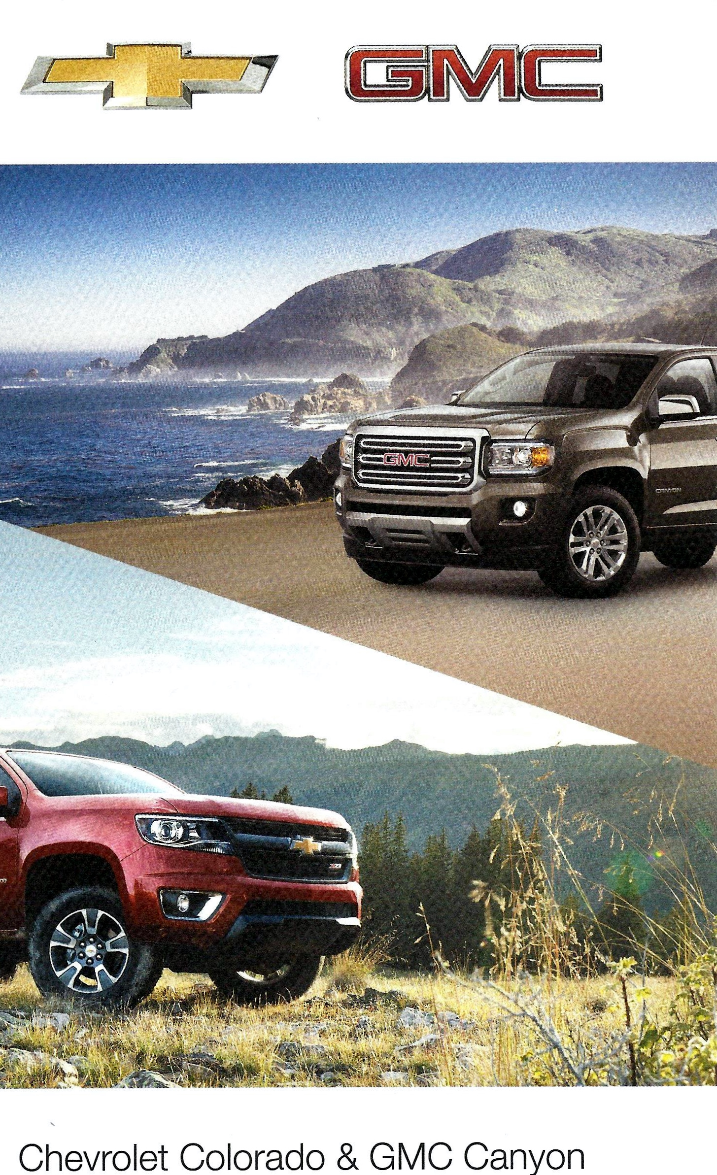 Driven 2015 Chevrolet Colorado and GMC Canyon Pickups Matt Stone Cars