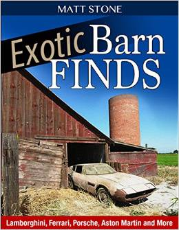 Coming Soon — My New Book: Exotic Barnfinds