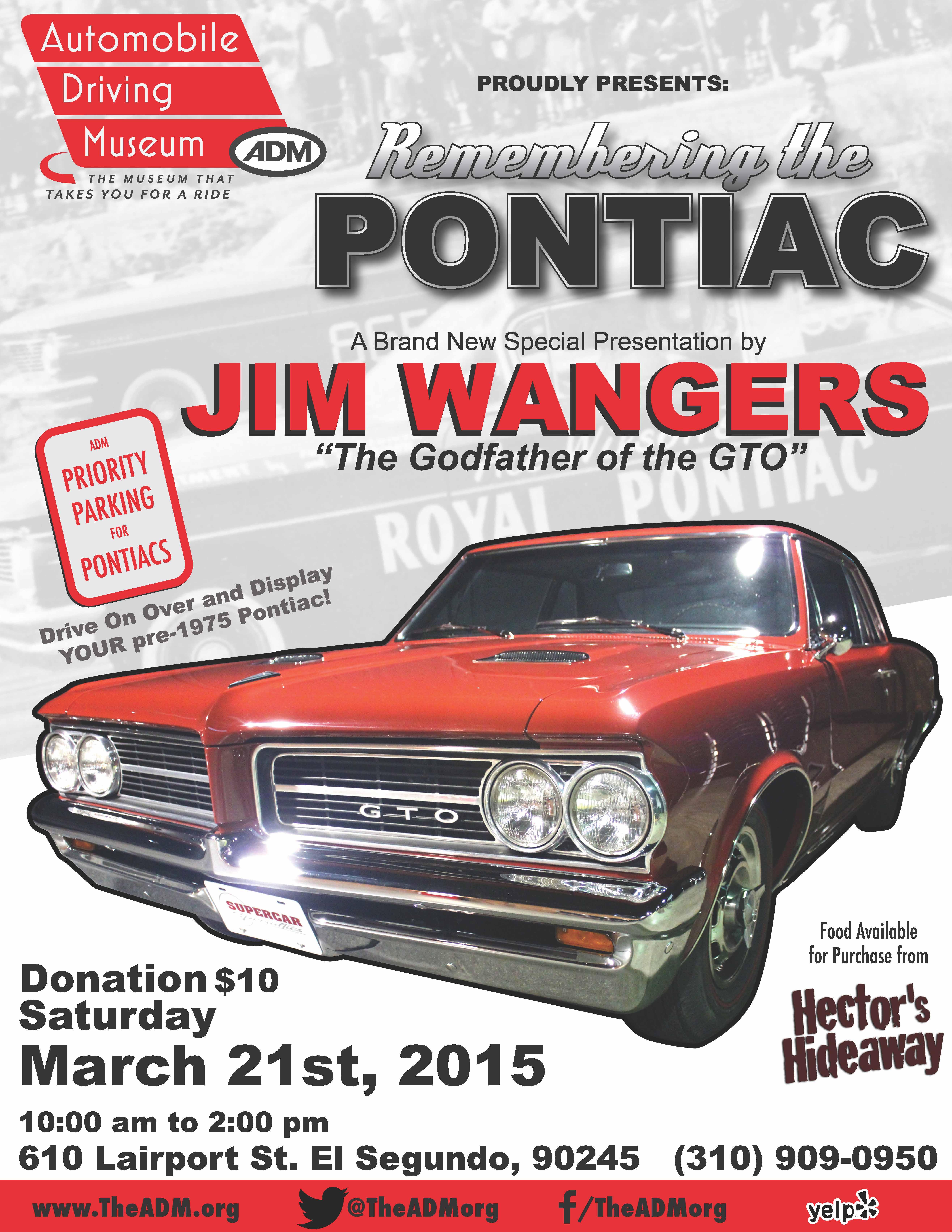 Remembering Pontiac