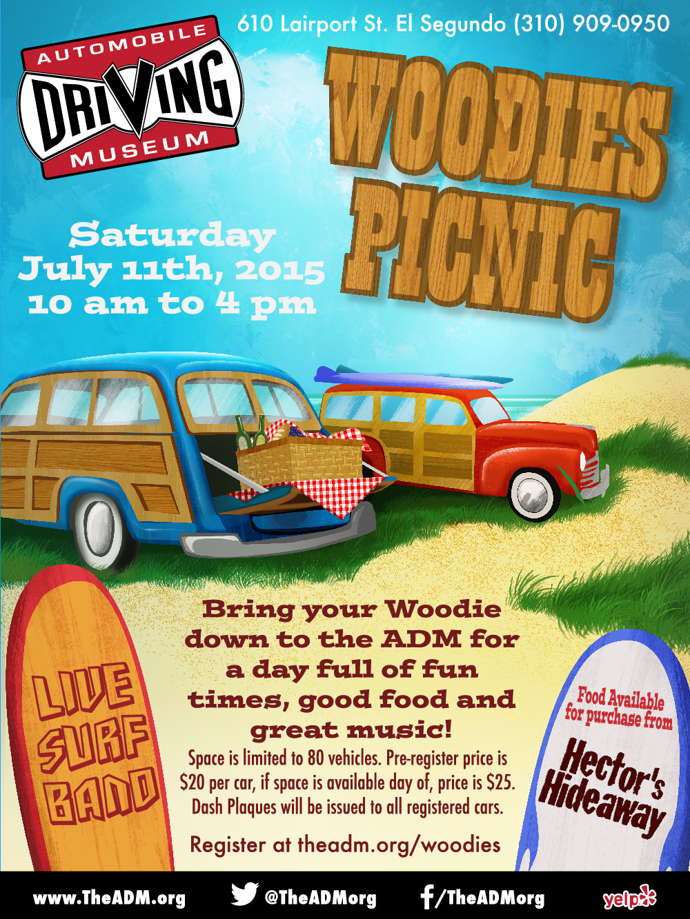 Woodies in the Park show coming soon