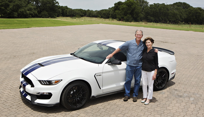 2016 Ford Shelby GT350 to be Auctioned to Benefit the George W. Bush Institute's Military Service Initiative