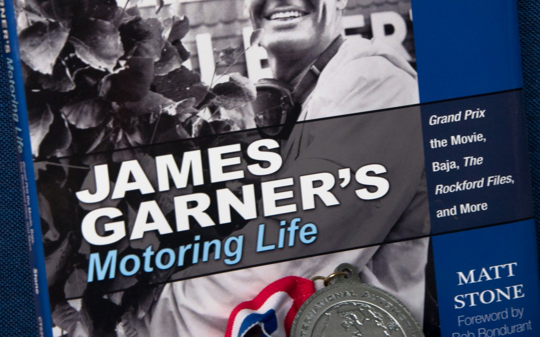 JAMES GARNER'S MOTORING LIFE book wins IAMA silver medal
