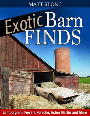 Exotic Barn Finds Book- Matt Stone