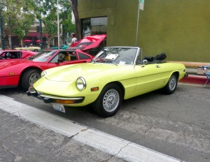 My friend Jeff's '74 Alfa.