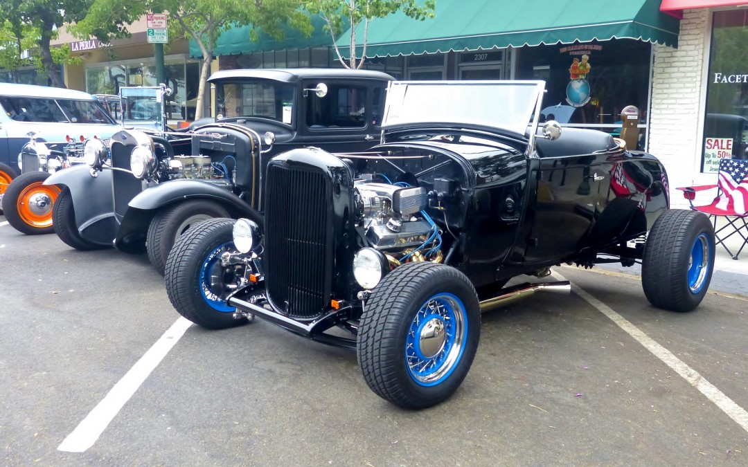 Montrose Village Classic car show
