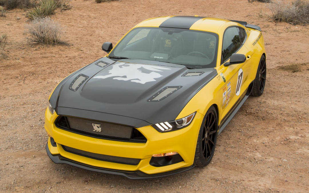 LIMITED EDITION SHELBY TERLINGUA MUSTANG RETURNS