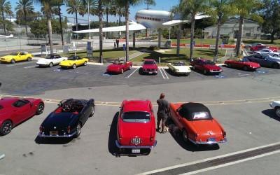 Alfa Romeo Owners Club of So. Cal show at Santa Monica Airport