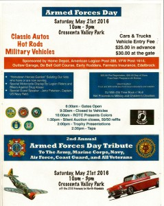 Armed Forces Day Car Show 2015