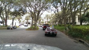 This is the driveway leading up to the Ritz the day before the show, notice the tasty Lamborghini 400gt 2+2 just in front of me, and the Allard J2x just to the left of the frame.